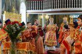 В субботу 2-й седмицы по Пасхе Преосвященный епископ Серапион сослужил Митрополиту Астанайскому и Казахстанскому Александру в Божественной Литургии в храме города Астаны 21.04.2018