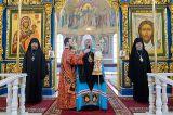 В неделю святых Жен-мироносиц Преосвященный епископ Серапион сослужил Митрополиту Астанайскому и Казахстанскому Александру в Божественной Литургии в Успенском кафедральном соборе города Астаны 22.04.2018