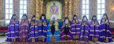 Служение Преосвященного епископа Серапиона в Неделю 26-ю по Пятидесятнице в Успенском кафедральном соборе Астаны 25.11.2018