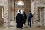 Митрополит Александр посетил строящийся Воскресенский собор города Кокшетау 06.05.2017