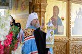 Преосвященный епископ Серапион принял участие в торжествах посвященных 115-летию канонизации Серафима Саровского в Иверско-Серафимовском монастыре Алма-Аты 01.08.2018
