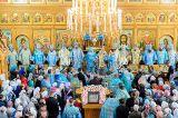 Преосвященный епископ Серапион принял участие в торжествах  в память 15-летия Собора новомучеников и исповедников Казахстанских и принесения Курской-Коренной иконы Божией Матери в Алма-Ате  6 октября 2019 г.