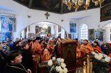 Чудотворная Феодоровская икона Божией Матери прибыла в Кокшетаускую епархию в Михаило-Архангельский кафедральный собор города Кокшетау
