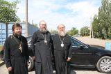 Митрополит Астанайский и Казахстанский Александр посетил с рабочим визитом Кокшетаускую и Акмолинскую епрахию 5 июля 2018 г.