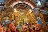 Преосвященный епископ Серапион принял участие в праздновании дня памяти преподобного Севастиана Карагандинского в «Шахтерской столице» Казахстана 19.04.2018