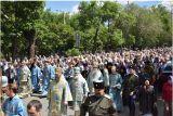 Преосвященный епископ Серапион принял участие в торжествах в честь явления чудотворной Табынской иконы Божией Матери в Оренбурге 8 июня 2018 г.