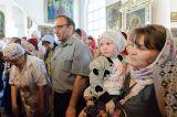 В Михаило-Архангельском соборе Кокшетау состоялась праздничная Божественная Литургия по случаю принесения в епархию чудотворной Феодоровской иконы Божией Матери