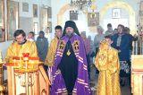 В Неделю 15-ю по Пятидесятнице Преосвященный епископ Серапион совершил архипастырский визит на приход храма святителя Иоанна Златоуста села Астраханка 09.09.2018 г.