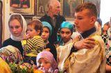 В Неделю 17-ю по Пятидесятнице Преосвященный епископ Серапион совершил Божественную литургию на приходе святой великомученицы Варвары города Акколь 13.10.2019