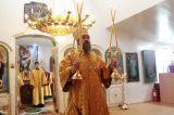 В неделю 3-ю по Пятидесятнице Преосвященный епископ Серапион совершил Божественную Литургию в храме святого Архистратига Божия Михаила города Щучинска 17.06.2018 г.