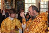 В канун Недели 10-й по Пятидесятнице Преосвященный епископ Серапион совершил всенощное бдение в Михаило-Архангельском соборе Кокшетау 12 августа 2017 года