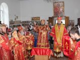 Престольный праздник отметил приход св. вмч. Пантелеимона пос.Боровое 9 августа 2017 года