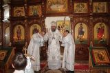 В праздник Вознесения Господня Преосвященный епископ Серапион совершил Литургию в Михаило-Архангельском кафедральном соборе Кокшетау 6.06.2019