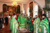 В день Святого Духа Преосвященный епископ Серапион совершил Литургию в Михаило-Архангельском кафедральном соборе Кокшетау 17.06.2019