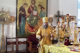 В Неделю сыропустную епископ Кокшетауский и Акмолинский Серапион совершил Литургию в Михаило-Архангельском соборе Кокшетау 10.03.2019