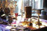 В праздник Воздвижения Креста Господня Преосвященный епископ Серапион совершил Литургию в Михаило-Архангельском соборе Кокшетау 27.09.2018