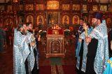 В праздник Рождества Пресвятой Богородицы Преосвященный епископ Серапион совершил Литургию в кафедральном Михаило-Архангельском соборе Кокшетау 21.09.2018