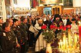 В праздник Светлого Христова Воскресения Преосвященный епископ Серапион возглавил торжественное богослужение в Михаило-Архангельском кафедральном соборе  Кокшетау 8 апреля 2018 года