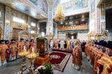 Служение епископа Кокшетауского и Акмолинского Серапиона на Литургии в день торжественной памяти 20-летия учреждения Астанайской и Алма-Атинской епархии в городе Алма-Ате 18.05.2019