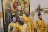 В день памяти блаженной Ксении Петербургской Преосвященный епископ Серапион совершил Литургию в кафедральном Михаило-Архангельском соборе Кокшетау