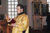 В день памяти святителя Иоанна Златоуста Преосвященный епископ Серапион совершил Литургию в кафедральном Михаило-Архангельском соборе Кокшетау 9.02.2019