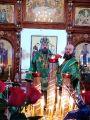 В праздник Входа Господня в Иерусалим Преосвященный епископ Серапион совершил Божественную Литургию в Михаило-Архангельском кафедральном соборе Кокшетау 01.04.2018