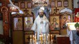 Преосвященный епископ Серапион с архипастырским визитом посетил приход святого великомученика Пантелеимона пос. Шантобе 21.01.2018 г.