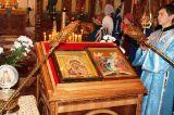 В день празднования Казанской иконы Божией Матери Преосвященный епископ Серапион совершил Божественную литургию в Михаило-Архангельском соборе Кокшетау 4.11.2018