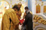 В день памяти апостола и евангелиста Луки Преосвященный епископ Серапион совершил Божественную литургию в Свято-Никольском храме села Максимовка 31.10.2018