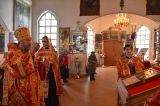 Глава Кокшетауской и Акмолинской епархии совершил уставное пасхальное богослужение вечером в четверг Светлой седмицы