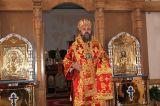 Во вторник Светлой седмицы Преосвященный епископ Серапион совершил Божественную литургию в храме сщмч. Елевферия г.Степногорска 10.04.2018