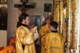 В праздник святителя Николая Чудотворца Преосвященный епископ Серапион совершил Литургию в Никольском храме города Макинска 19.12.2018