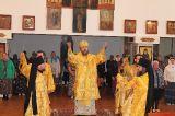 В праздник Всех Святых Преосвященный епископ Серапион совершил Литургию в храме преподобного Сергия Радонежского города Атбасар 23.06.2019