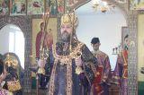 Преосвященный епископ Серапион совершил Литургию в новопостроенной Церкви великомученика Дими́трия Солунского в селе Дмитриевка Бурабайского района 6.04.2019