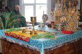 В день памяти преподобного Силуана Афонского Преосвященный епископ Серапион совершил Литургию в кафедральном Михаило Архангельском соборе Кокшетау 24.09.2019