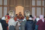 Преосвященный епископ Серапион совершил Божественную литургию в престольный праздник храма святого Елевферия епископа Римского города Степногорска