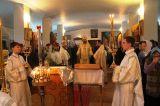 В праздник Собора Пресвятой Богородицы Преосвященный епископ Серапион  совершил Литургию в  храме Архистратига Божия Михаила города Щучинска 8.01.2019