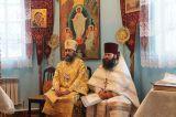 В день памяти первомученика Стефана Преосвященный епископ Серапион совершил Литургию в храме Архангела Михаила с. Зеренда