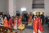 В день памяти священномученика Елевфе́рия епископа Римского Преосвященный епископ Серапион совершил  Литургию в храма святого Елевферия  города Степногорска 28.12.2018