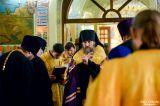 В канун праздника апостолов Петра и Павла Преосвященный епископ Серапион возглавил всенощное бдение в Петропавловском соборе города Петропавловска 11.07.2019