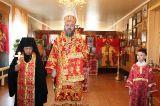 В день памяти блаженной Матроны Московской Преосвященный епископ Серапион совершил Литургию в храме Владимирской иконы Божией Матери села Балкашино 2.05.2019