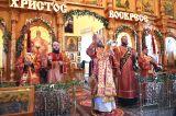В пятницу Светлой седмицы Преосвященный епископ Серапион совершил Литургию в Севастиано — Магдалининском храме в микрорайоне Береке города Петропавловска