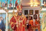 В день памяти преподобного Сергия Радонежского Преосвященный епископ Серапион совершил Литургию в храме святой преподобномученицы великой княгини Елисаветы г. Ерейментау