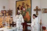 Преосвященный епископ Серапион совершил Литургию в праздник святых отцов I Вселенского Собора 9.06.2019