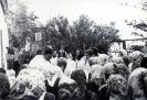 Освящение храма святой великомученицы Варвары епископом Евсевием (28 мая 1988 г.)